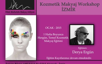 Kozmetik Makyaj Workshop İZMİR