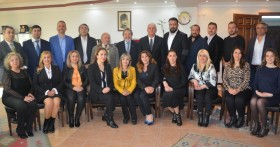 İzmir Esnaf ve Sanatkarlar Odaları Birliğini Ziyaret